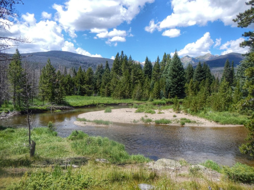 Fishing in Rocky Mount... Rocky Mountain National Park Summer