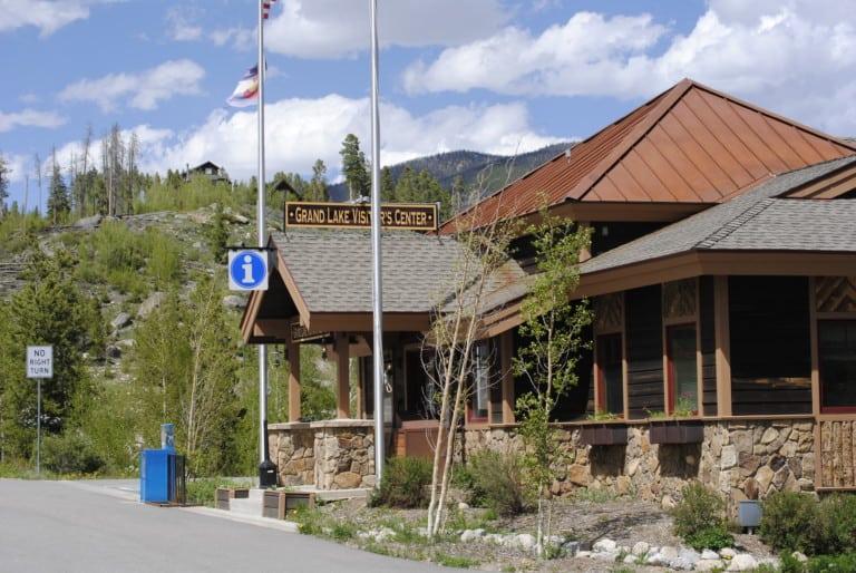Visitor Center in Grand Lake Colorado