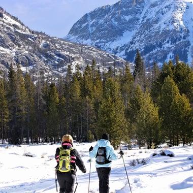 Winter in Grand Lake Colorado