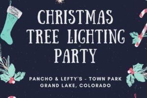 Grand Lake Christmas Tree Lighting Party