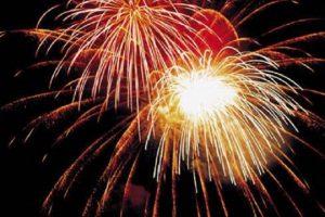 Fireworks in Grand Lake