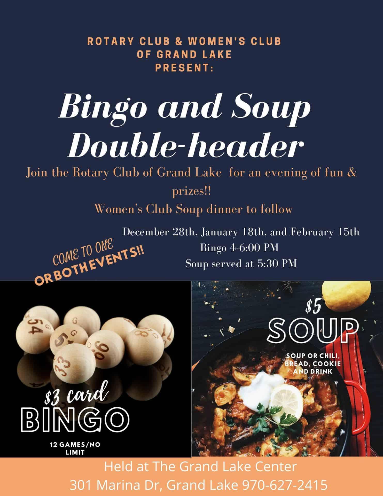 Bingo and Soup Extravaganza